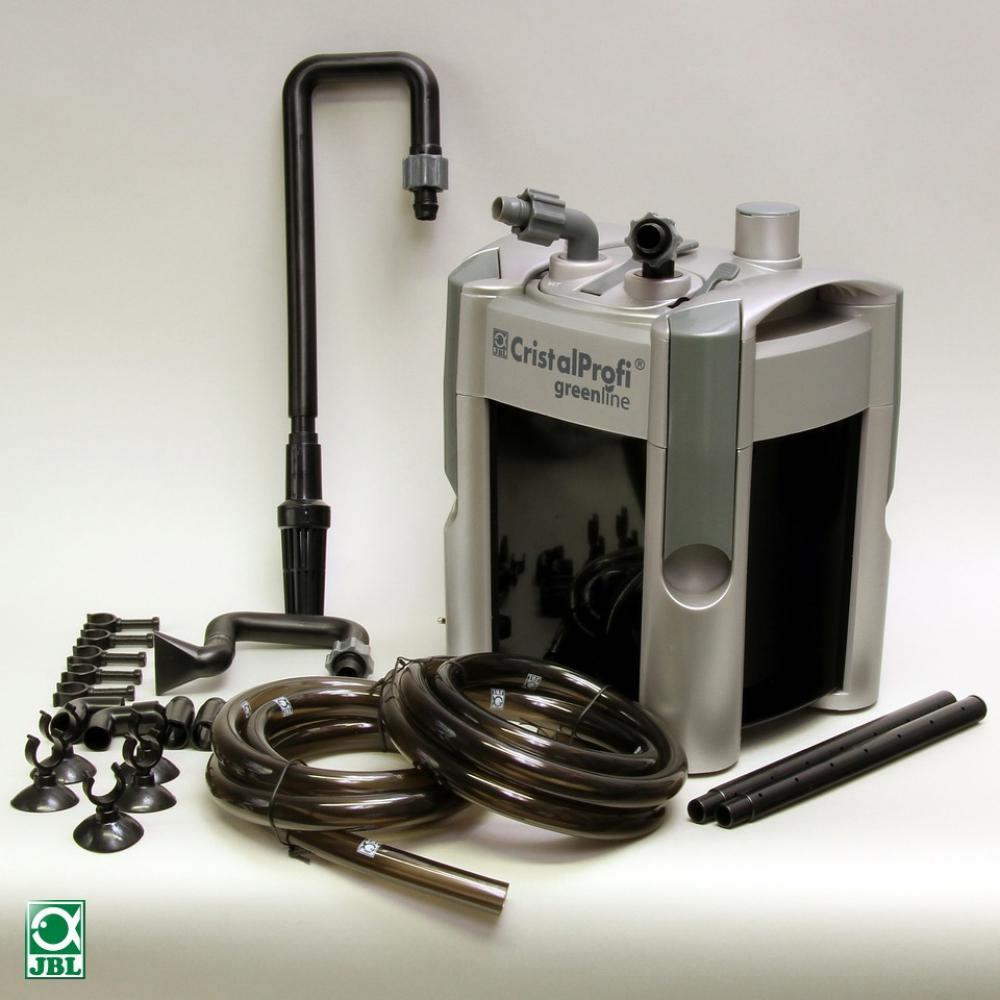 JBL CristalProfi e401 greenline. Энергосберегающий внешний фильтр для аквариумов 40-120 литров - 1