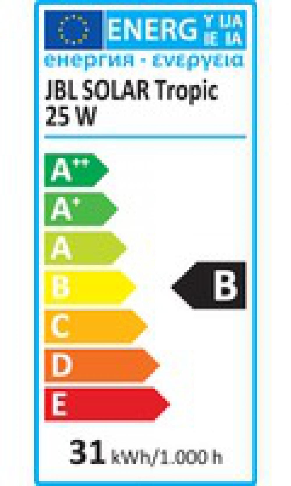 JBL SOLAR TROPIC 25 Вт, 742 мм. Лампа полного спектра для аквариумных растений - 1