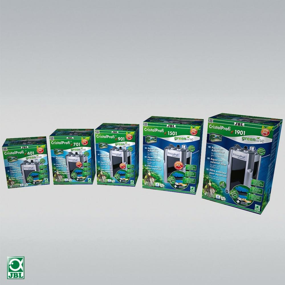 JBL CristalProfi e401 greenline. Энергосберегающий внешний фильтр для аквариумов 40-120 литров - 3