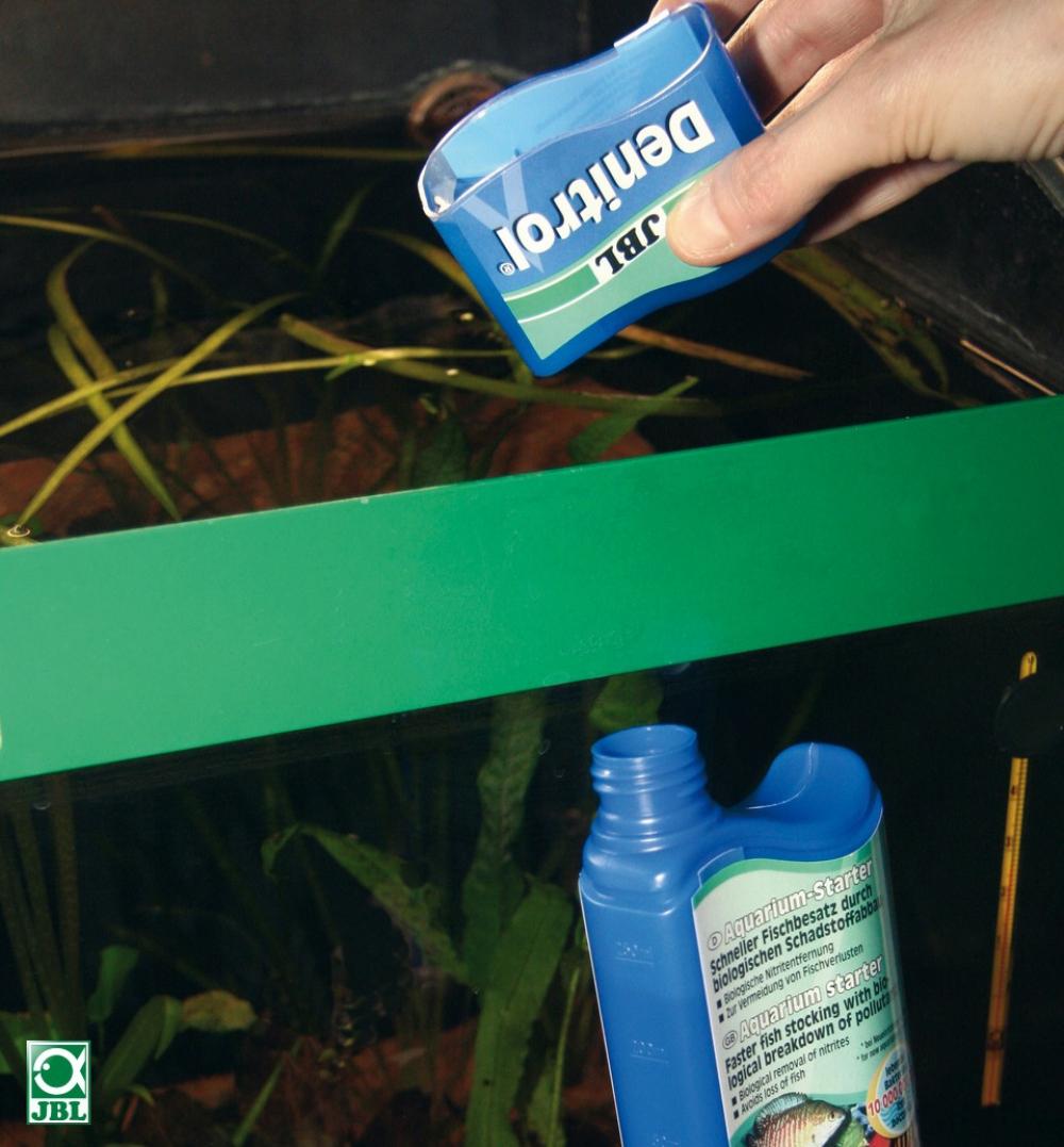 JBL Denitrol - Средство, содержащее полезные бактерии для обустройства аквариума, 100 мл - 1