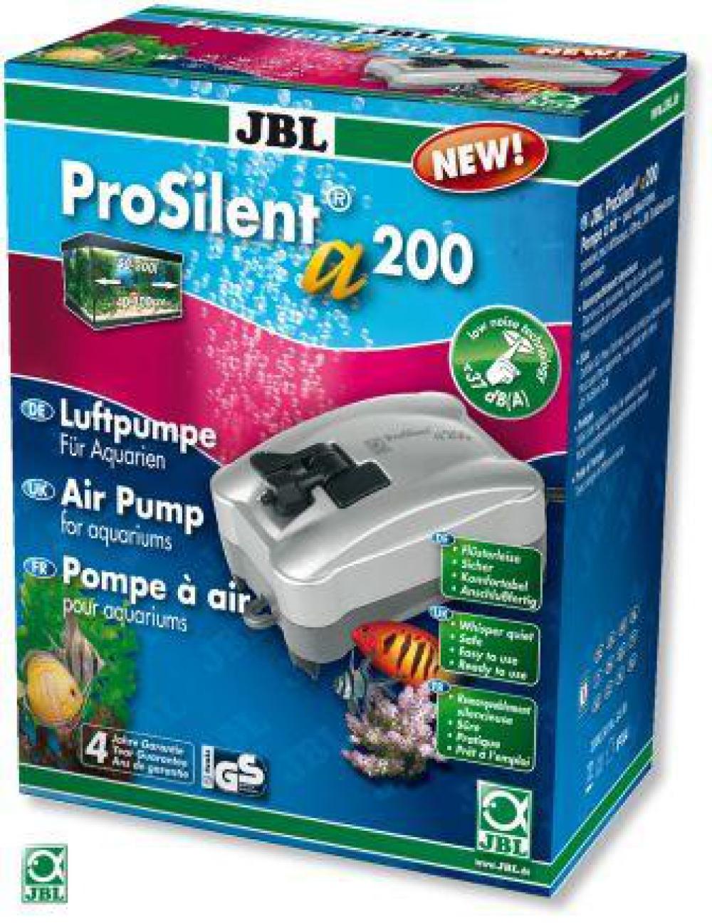 JBL ProSilent a200. Компрессор для аквариумов от 50 до 300 л - 3