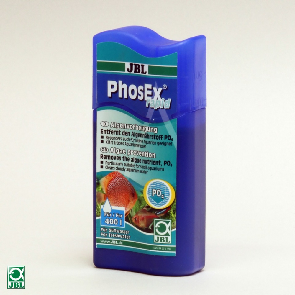 JBL PhosEx rapid - Жидкость для устранения фосфата, 250 мл - 2