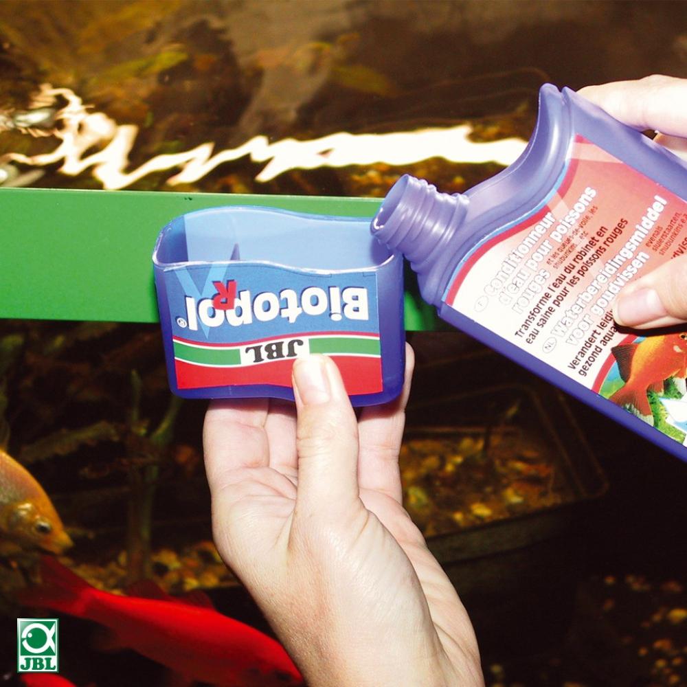 JBL Biotopol R, 100 мл - Кондиционер для золотых рыбок - 1