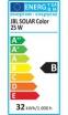 JBL SOLAR COLOR 25 Вт, 742 мм. Люминесцентная лампа для интенсивных цветов в пресноводных аквариумах  - 2
