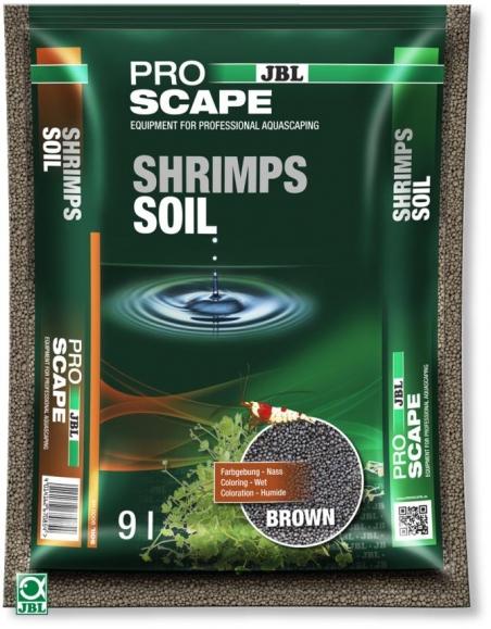 JBL ProScape ShrimpsSoil BROWN, 9 л - Питательный грунт для аквариумов с креветками