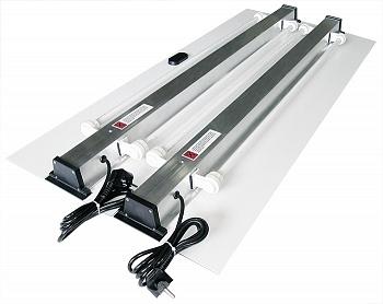 Комплект DOUBLE LIGHT Биодизайн доп. свет для аквариума Атолл 400, 130 см, 54 Вт