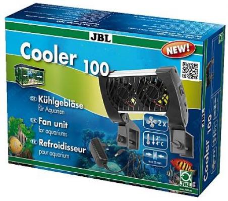 Вентилятор JBL Cooler 100 - используется для охлаждения воды в аквариумах от 60 до 100 л