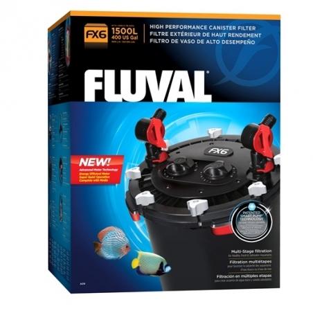 Fluval FX6 - внешний фильтр для аквариумов до 1500 литров