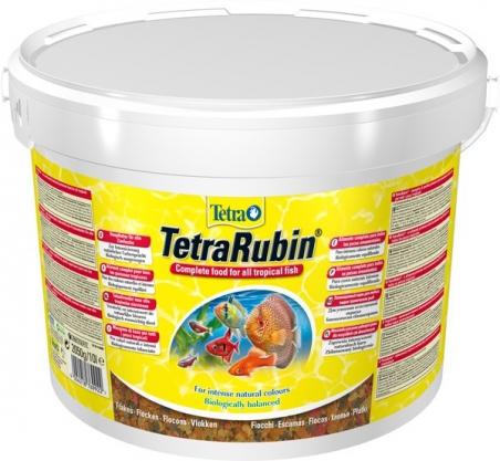 Корм для усиления окраски рыб TetraRubin 10 л