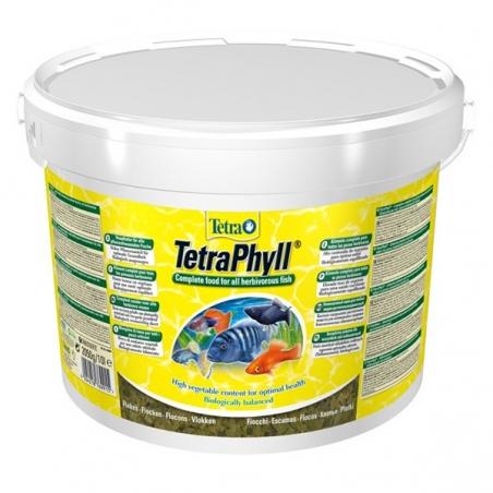Корм для всех травоядных рыб TetraPhyll 10 л