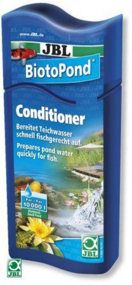 JBL BiotoPond 500мл -  Кондиционер для быстрой подготовки воды в пруду
