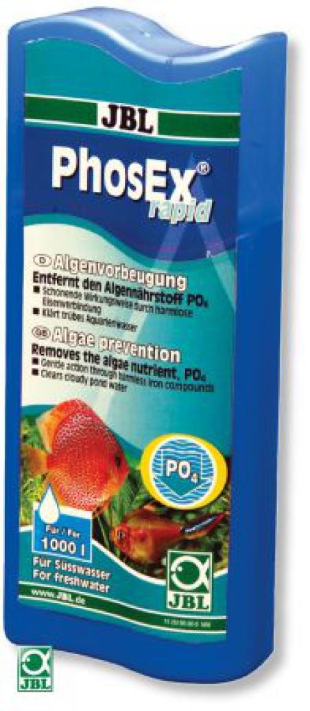 JBL PhosEx rapid - Жидкость для устранения фосфата, 250 мл