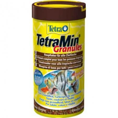 Гранулированный корм для всех видов тропических рыб TetraMin Granules 250 мл