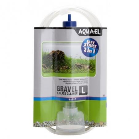Грунтоочиститель(сифон) Aquael Gravel Cleaner L (со скребком) 33 см