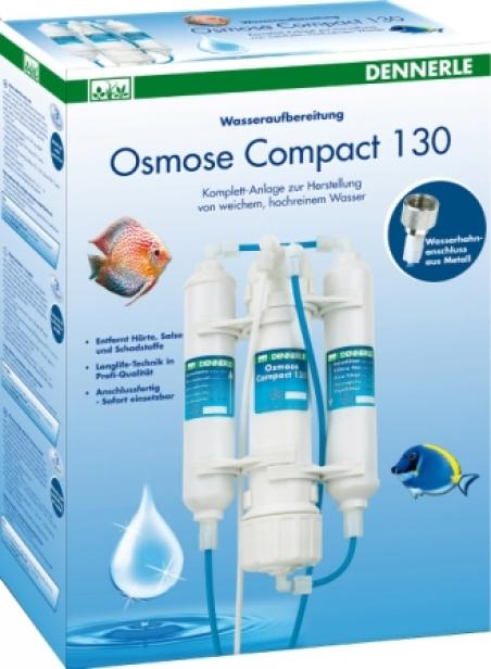 Dennerle Osmose Compact 130 - Установка обратного осмоса для подготовки водопроводной воды для аквариума