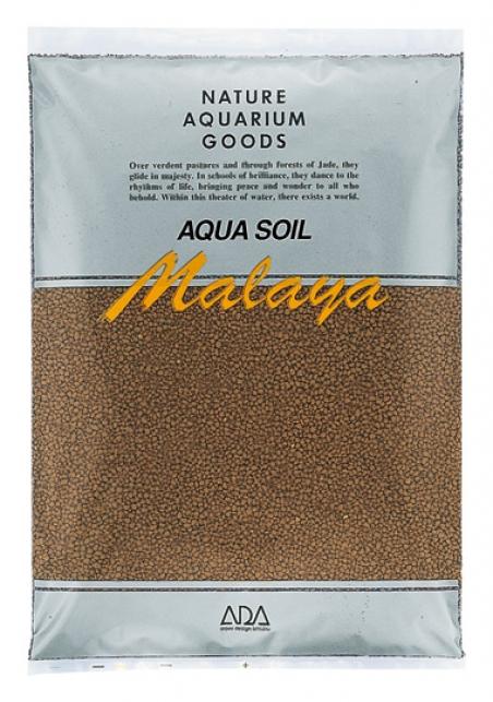 Грунт ADA Aqua Soil Malaya, 3 л - Основной питательный субстрат