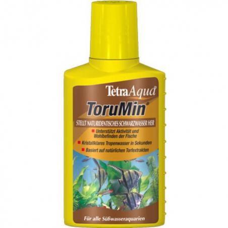 Мгновенно создает природную тропическую воду Tetra ToruMin 250 мл (рассчитан на 500л. воды)