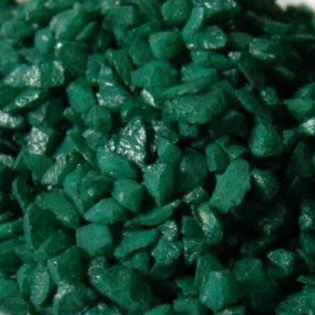 Мраморная крошка Зеленая (5-10 мм) 1 кг