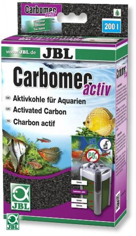Наполнитель для фильтра JBL Carbomec activ - активированный уголь, 400 гр