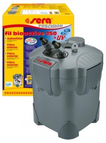 Sera fil bioactive 250 + UV. Внешний фильтр для аквариума до 250 л. с УФ - стерилизатором