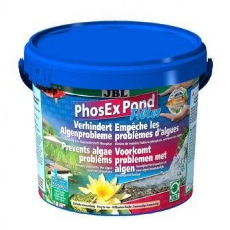 JBL PhosEx Pond Filter 2,5 кг - Наполнитель для прудовых фильтров в форме гранул для устранения фосфатов в пруду