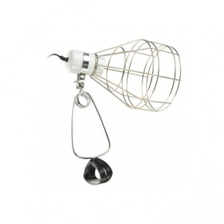 Керамический цоколь с металлической сеткой Ferplast LAMP BASKET для лампы точечного нагрева