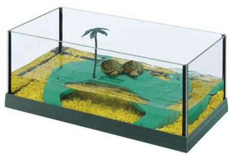 Палюдариум FERPLAST HAITI 40 для черепах, зеленый