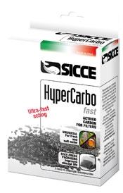 Наполнитель для фильтра SICCE Hypercarbo Fast, активированный уголь, 3x100 гр