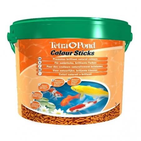 Корм для прудовых рыб Tetra Pond ColorSticks 10л