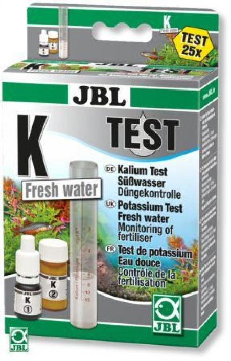 JBL K Potassium Test-Set - Тест для определения содержания калия (K) в пресной и морской воде