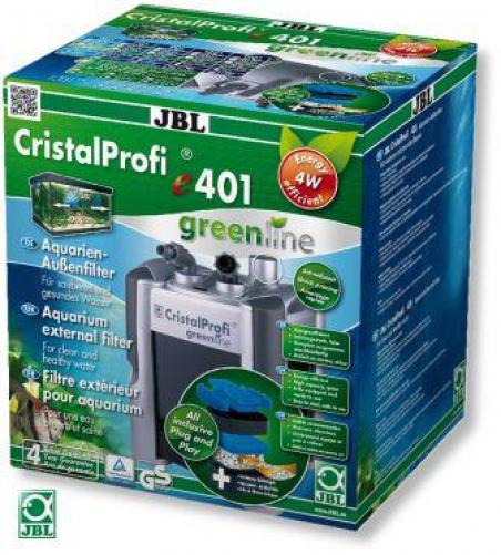 JBL CristalProfi e401 greenline. Энергосберегающий внешний фильтр для аквариумов 40-120 литров