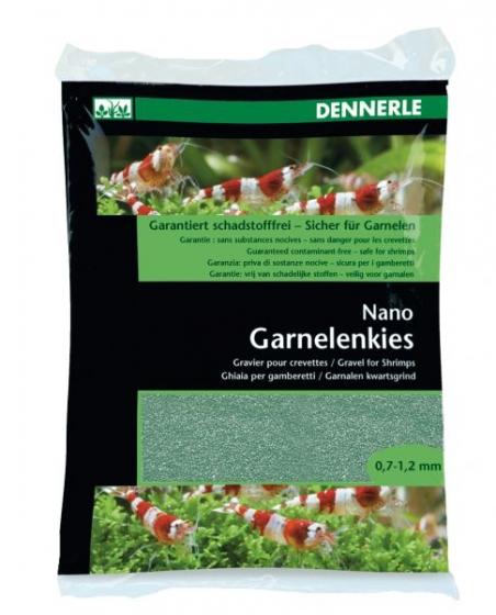 Аквариумный грунт Dennerle Nano Garnelenkies Java green 2кг