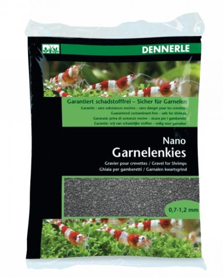 Аквариумный грунт Dennerle Nano Garnelenkies Sulawesi black 2кг