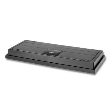 Крышка светильник JUWEL Monolux 80, черная, 80х30 см., 1x18W T8