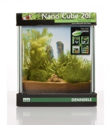 Аквариум Dennerle NanoCube Complete 20 литров Полный комплект