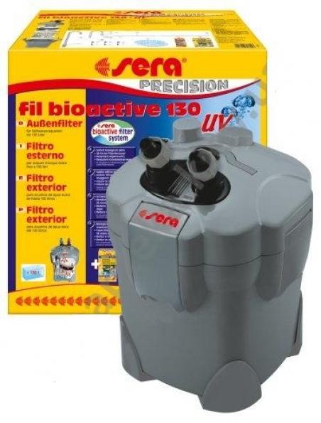 Sera fil bioactive 130 + UV. Внешний фильтр для аквариума до 130 л. с УФ - стерилизатором