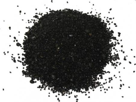 Песок мраморный черный (0,3-0,5 мм) 1 кг