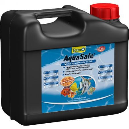 Средство для преобразования водопроводной воды Tetra AquaSafe 5 л (рассчитан на 10000л)