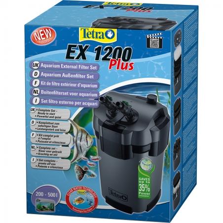 Фильтр внешний Tetra EX-1200 Plus (для аквариумов от 200 до 500 л.)