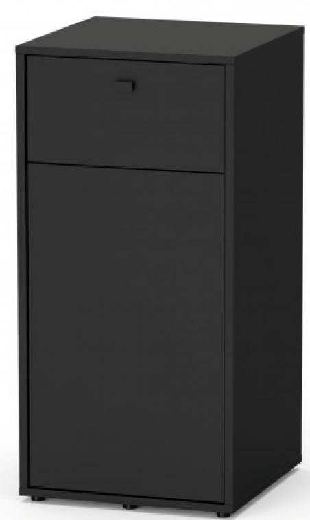 TERRARIUM Smart Line Тумба 45х45х90, черный (001)