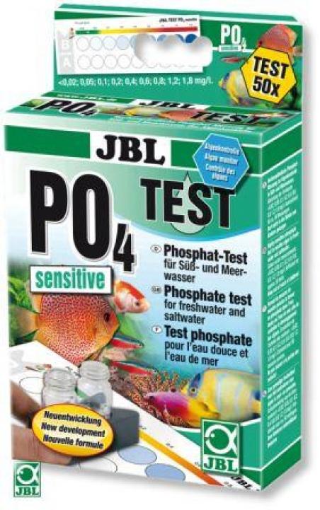 JBL Phosphat Test Set - Тест для определения содержания фосфатов (PO4) в пресной и морской воде