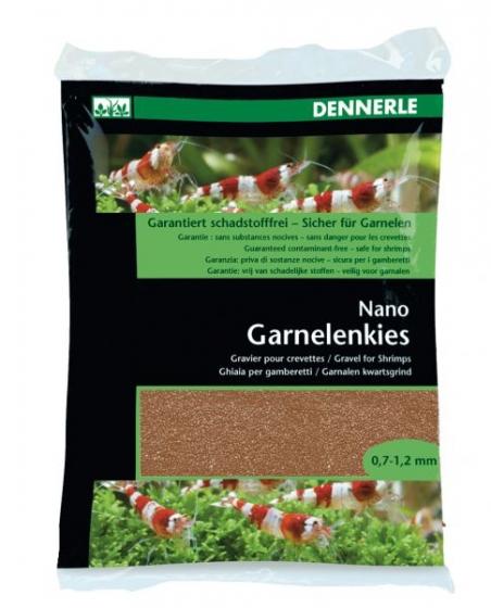 Аквариумный грунт Dennerle Nano Garnelenkies Sumatra brown 2кг