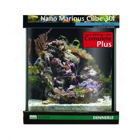 Аквариум Dennerle Nano Marinus Cube Complete PLUS 30 литров Полный Морской комплект Плюс