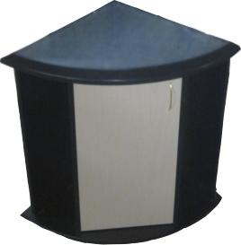 Тумба под аквариум Aquarius 120 литров Угловой