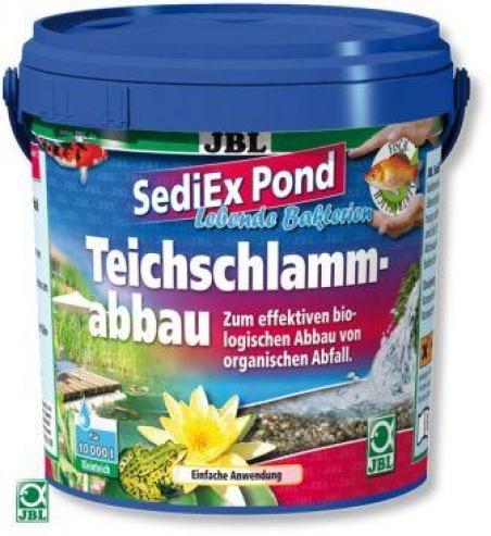 JBL SediEx Pond 1 кг - Препарат для быстрого удаления ила из прудов