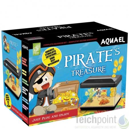 Аквариум Aquael Pirate 15л с копилкой