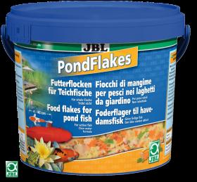 JBL Pond Flakes 10,5л - Корм для всех видов прудовых рыб в виде хлопьев