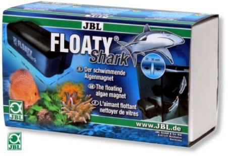 JBL Floaty Shark - Плавающий магнитный скребок для толстых стекол 20-30 мм