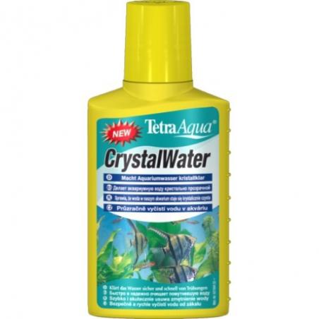 Делает аквариумную воду кристально чистой Tetra CrystalWater 100 мл (рассчитан на 200л)