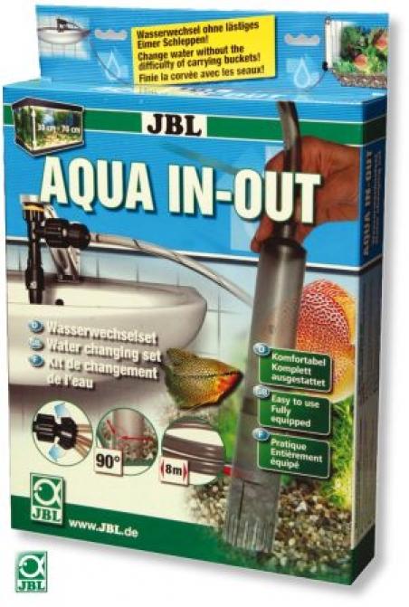 JBL Aqua In-Out Komplett-Set - Устройство для чистки и замены воды два в одном (Сам высасывает, сам наполняет)
